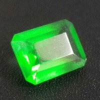 Jual Natural Zamrud Kalimantan, Octagon Emerald, Top Green, Like Colombia. Murah