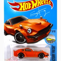 Custom Datsun 240Z ORANGE FuguZ - Hot Wheels HW Hotwheels