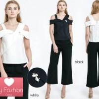Jual Kaos Sabrina dan Bros 2 Warna (White & Black) Murah