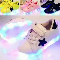 Jual sneakers led sepatu anak Murah