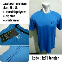Baselayer Nike Big Size Bz11 Turqish Manset Jersey Bola Kaos Gym