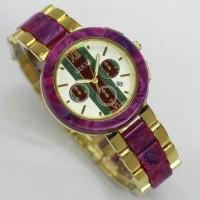 NEW!! jam tangan wanita cewek Gucci chain tali rantai murah mewah gold