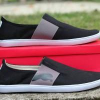 Sepatu Slip On Pria Puma Black Murah