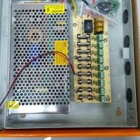 power supply Panel 12volt 10A pasti pas. 8 line.