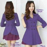 Cak Tamika Purple Blazer