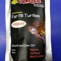 Pellet JKK Complete + Probiotic 100gr untuk Kura-kura air