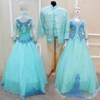 Lune Gown Couple Baju Pengantin Kebaya Free Petucoat, Kamisol, Selop