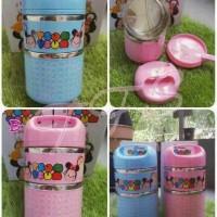 Lunchbox / Rantang Stainless 2 Susun / Susun 2 - Disney Tsum Tsum