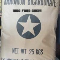 Amonium Bicarbonate/amoniak kue Food Grade ex Jepang, perenyah makanan