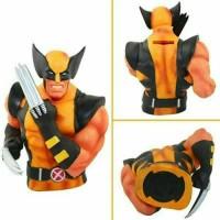 Jual Celengan Vinyl Wolverine Coin Bank ... Cocok Untuk Kado ... Murah