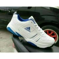 Sepatu Tenis Pria Adidas / Tennis Badminton Olahraga Lari Jogging