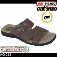 Jual Sandal kulit Pria sandal formal sandal santai casual sandal cibaduyut Murah