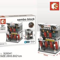 Sembo SD6541 HSBC Bank With LED Lighting [PZ 1286]