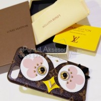 iPhone 6/6S/6S/6S Plus LV Bird Leather Case