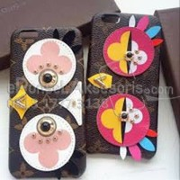 iPhone 7/ 7 Plus LV Bird Leather Case