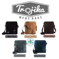 Trojika/trojikaman/tas Selempang Pria/tas Laptop/tas Kulit/sling Bag