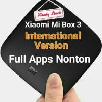 Xiaomi Mi Box 3 International Version Full Apps Nonton MDZ-16-AB