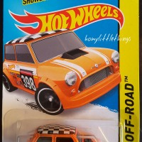 Hot Wheels : Morris Mini Hotwheels Cooper Austin Minivan Orange