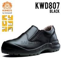 Jual Kings KWD 807X Sepatu Safety Shoes King's KWD807 Hitam Termurah Proyek Murah