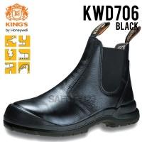Kings KWD 706X Sepatu Safety Shoes King's KWD 706 KWD706 Black Hitam