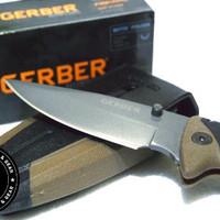 Pisau Lipat Tactical Gerber Myth Folding Sheath Knife Outdoor EDC