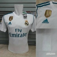 Jersey Baju Bola Real Madrid Home New 17/18 Grade ORI
