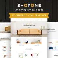 ShopONE - Furniture HTML Store