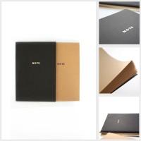UCHII Note Book Plain Craft Paper A5 - Japanese Style / Buku Catatan