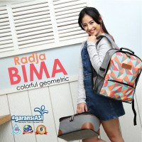 Cooler Bag Gabag Radja Bima - Tas Cooler Bag Ransel Penyimpan Asi