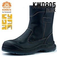 Kings KWD 805X Sepatu Safety Shoes King's KWD805 Black Hitam Boots