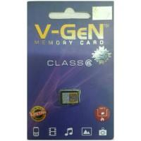 V-Gen Micro SD Kartu Memori 8GB Class 6 Memory Card Vgen