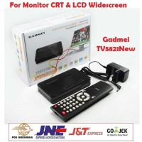 TV Tuner Box External GADMEI 5821 New For CRT LCD LED Widescreen Combo
