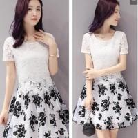 Jual Baju Dress Wanita Import Polyester lace mesh 32 Murah