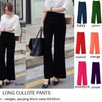 Jual Long Wide Pants / Kulot panjang / Maxi Kulot / Cullote Murah