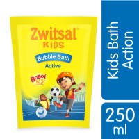 Zwitsal Kids Bath Active Blue 250ml