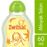 Zwitsal Baby Natural Minyak Telon - 60ml