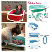 Bak Mandi Bayi Lipat / Karibu Folding Bath / Baby Bath Tub