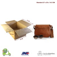 KARDUS | BOX | KARTON PACKING ( 27 X 20 X 14.5 )