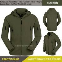 Jual JAKET BRAVO TAD TACTICAL ARMY / GREY / BLACK Murah