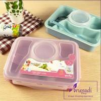 Jual Tempat Makan Anak anti tumpah / Lunch Box Yooyee  Murah