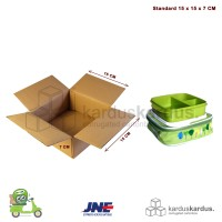 KARDUS | BOX | KARTON PACKING ( 15 x 15 x 7 )