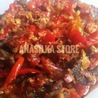 Jual Dendeng balado batokok 250 gram homemade Murah