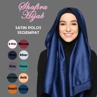 Jual Hijab SATIN POLOS Murah