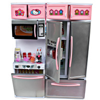 Jual Kitchen Set Hello Kitty Modern kids / Mainan Anak Murah
