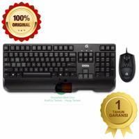 Keyboard Logitech Plus Mouse G100 S Gaming Combo Original