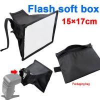 Soft Box Flash Diffuser 15cm X 17cm