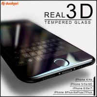 Tempered Glass FULL COVER iPhone 5 6 6s 6s PLUS 7 7 PLUS Screen Guard