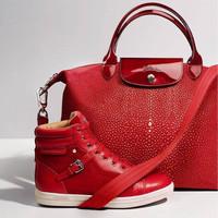 Longchamp Neo Fantasie Red