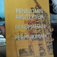 Penelitian Arsitektur Di Bidang Perumahan Dan Permukiman