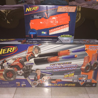 Jual Nerf Elite Rhino-Fire + Modulus Clip Murah